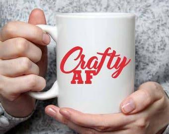 Crafty AF Coffee Mug