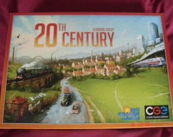 20th Century board game Rio Grande complete excellent condition environment business country growth industrialisation