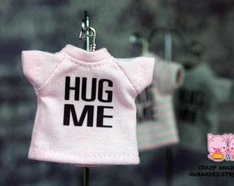 B022 - Lati Yellow / pukifee Hug me T-shirt (Pink)
