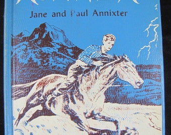 The Runner // 1956 Hardback // Young Reader book about wild stallion in Wyoming // rare book