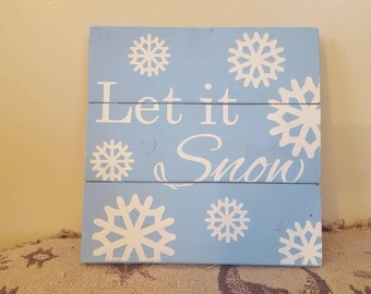 Festive Holiday Sign