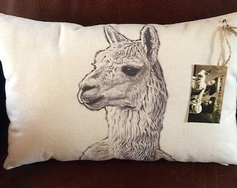 Alpaca Pillow / Slim