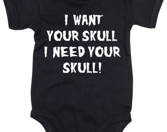 I want your skull baby grow