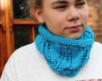 KNITTING PATTERN Cabled Knitting Pattern Short Long Cowl Womens Teenager Fashion Winter Accessory Neckwear Neckwarmer Scarborough Fair