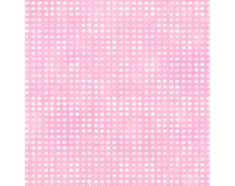 Dit Dot - Pink (8AH-22) In The Beginning Fabric Yardage