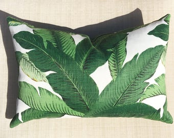 Swaying palms outdoor/ indoor cushion cover