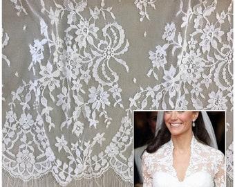 Sophie Hallette lace trim/French lace trim/trimming lace ribbon/beige lace/gray lace