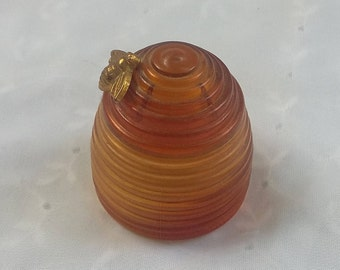 Avon Bee Hive Perfume Container