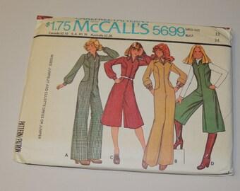 Uncut sz 12 McCalls 5699 pattern