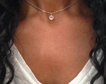 Gold Choker Necklace Choker Necklace Gemstone Choker Silver Choker Gold Choker Chain Dainty Choker Gold Dainty Choker ALSO IN SILVER