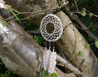 Free Standing Lace Dream Catcher