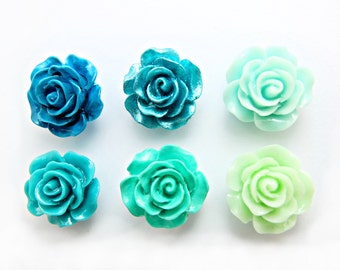 rose buds earring studs