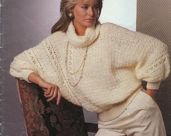 Women's Sweaters Patons Crocheting Pattern Book 511 (Fashion Crochet); Good; USED