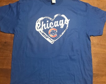 Chicago cubs heart