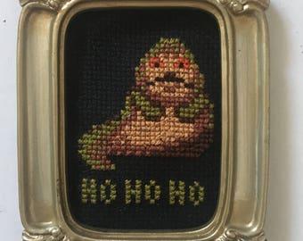 Jabba the Hutt cross stitch