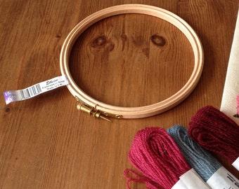 Embroidery 6inch, 15cm, Hoop by Elbesee