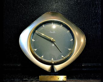 Vintage Mauthe Clock | Wind Up Clock | Table Clock | Mantle Clock | German