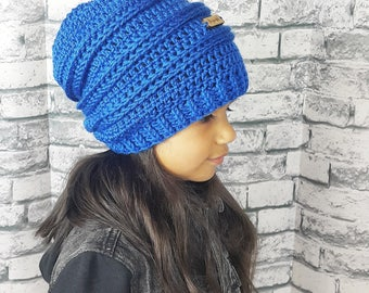 Beyoutiful Slouchy Beanie | ALL Sizes | Colorful Slouchy Ribbed Beanie | Be Your Own Kind of Beautiful Beanie | Inspirational Beanie