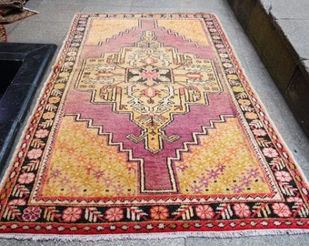 Turkish oushak rug,  turkish rug turkish vintage oushak rug moroccan rug, persian rug oushak rug,187