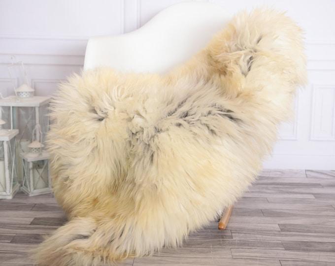 Sheepskin Rug | Real Sheepskin Rug | Shaggy Rug | Scandinavian Rug | | SCANDINAVIAN DECOR | Ivory Sheepskin  #FEBHER1