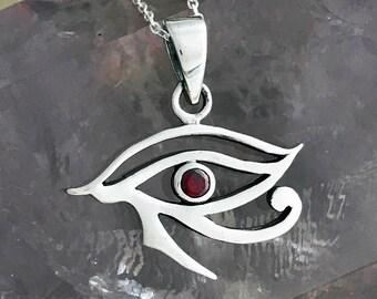 Eye of Horus Pendant Necklace EGP029