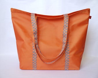Tote bag - Beach bag orange