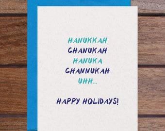 Hanukkah Holidays Set (8 Cards)