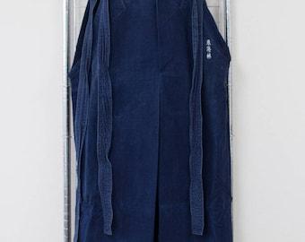 Vintage Japanese boro, kendo hakama , Indigo Dyed hakama , samursai , kimono , Kendo Wear