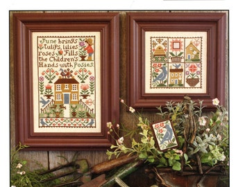 June by Prairie Schooler Counted Cross Stitch Pattern/Chart