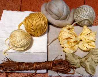 Naturally Dyed Maker's Pack- Queen Anne Lace