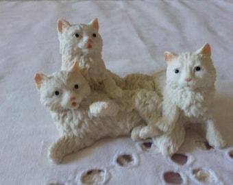 Ginger kitties sculpture