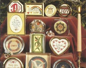 """Vintage June Grigg """"Little Treasures"""" Cross Stitch Leaflet"""