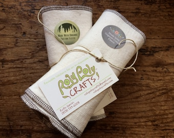 Organic Cotton Fleece Wipes