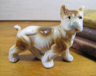Vintage Dog Figurine - Made in Japan