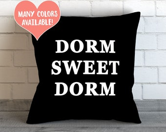 Dorm Decor, Pillow, Dorm Room, Cushion, Dorm Pillow, College Dorm Decor, Throw Pillow, Dorm Decor, Throw Pillow, Toss Pillows, Funny Dorm