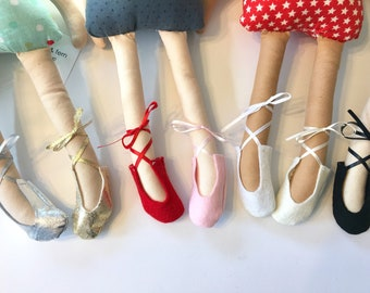 BALLET SLIPPERS for your Ellie and Fern doll