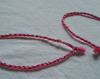 3 Tone Pink Friendship Bracelets