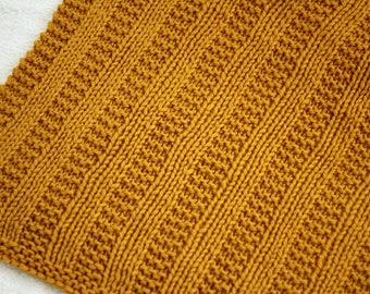 Knitting Pattern, Knit Blanket Pattern, Chunky Knit Pattern, Baby Blanket Pattern, Knit Afghan Pattern, Laurena Winter Blanket - 5 Sizes