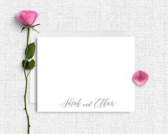 Personalized Stationery, Personalized Stationary, Personalized Note Cards, Thank You Note Cards,  Stationery Set, Custom Stationery , CS22