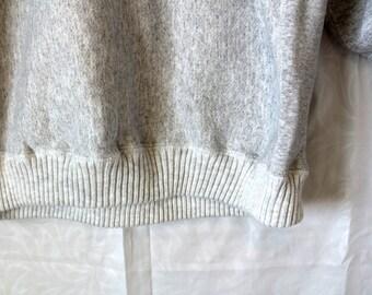 Vintage, Oversized Grey Sweater