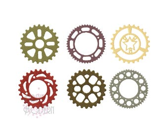 SPROCKETS AND GEARS Embroidery Design  Gears Embroidery  clockworks  steampunk embroidery   #416