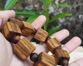 bracelet zebra agarwood abstract design jumbo