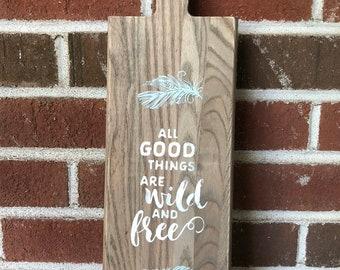 Decorative Wood Serving Board