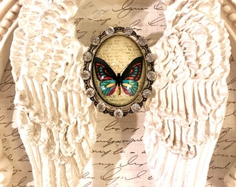 Butterfly Angel Wing Wall decor diamond butterfly hand sculpted angel wings unique personalized butterfly sentimental gift Precious Wings