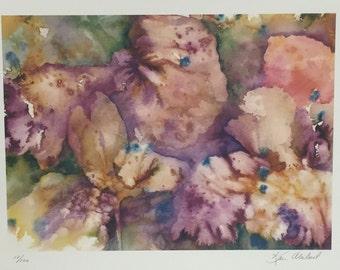 Abstract Iris Giclee
