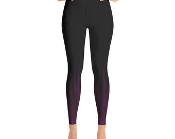 Inked Arc Yoga Activewear Pants/Leggings // Workout Clothes // Ombre