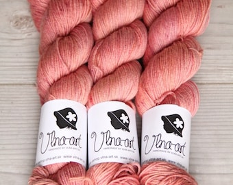 Orange Lemonade- Hand Dyed Yarn, FINGERING  Merino Wool, orange, bordo, burgundy, Yarn , Knitting Supplies | Wool Yarn | Merino Wool,