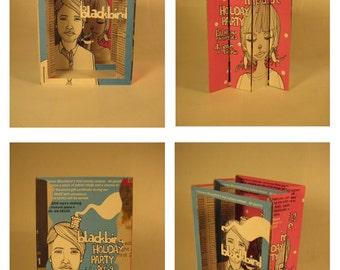 Blackbird - Tunnel Book by theZim