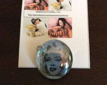 Marilyn's World pin