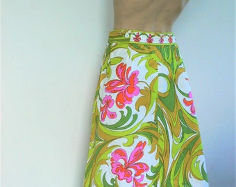 Vintage Emilio Pucci Rare Day Skirt  Emilio Pucci Boutique Saks Fifth Avenue // altered as found